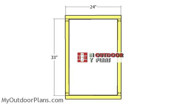 Peg-board-frame