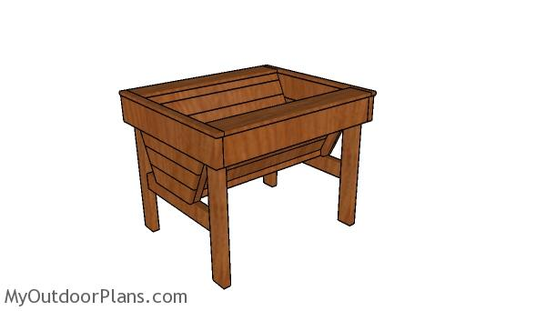 Raised Trough Planter Plans