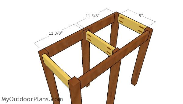Side top supports