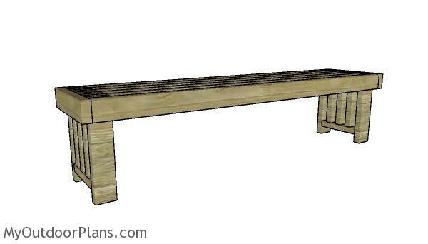 Simple 2x4 Bench Plans Myoutdoorplans Free Woodworking