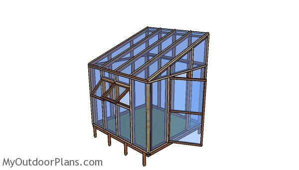 8x8 Lean To Greenhouse Plans Myoutdoorplans Free