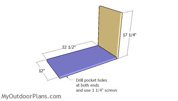 Storage unit frame