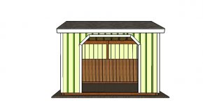 10×12 Run in ShedTrims Plans