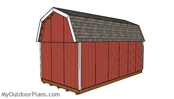 12x24 Barn Shed Plans
