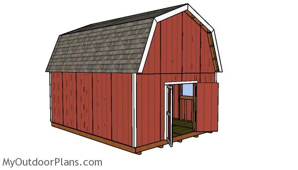 16x20 Barn Shed Plans