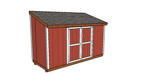 6×14 Lean to Shed Plans
