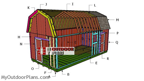 Building-a-12x24-barn-shed