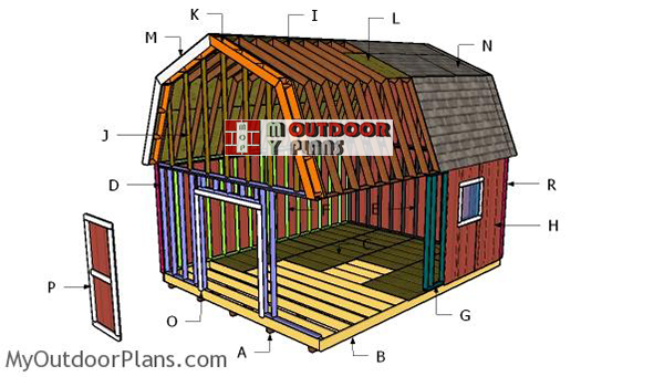 Building-a-16x20-barn-shed