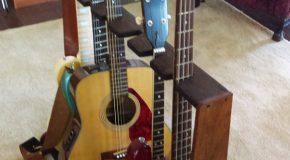 DIY Multi Rack for Guitars