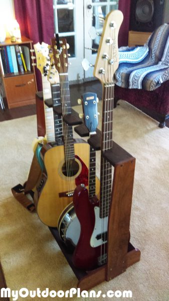 DIY Multi Rack for Guitars | MyOutdoorPlans | Free Woodworking Plans and Projects, DIY Shed ...