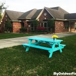 DIY 6′ Picnic Table