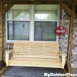 DIY Porch Swing with Stand