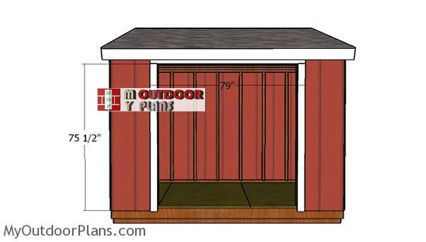Door-jambs-6x10-shed