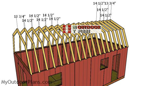Fitting-the-trusses---12-ft-truss