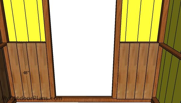 Front kickboards