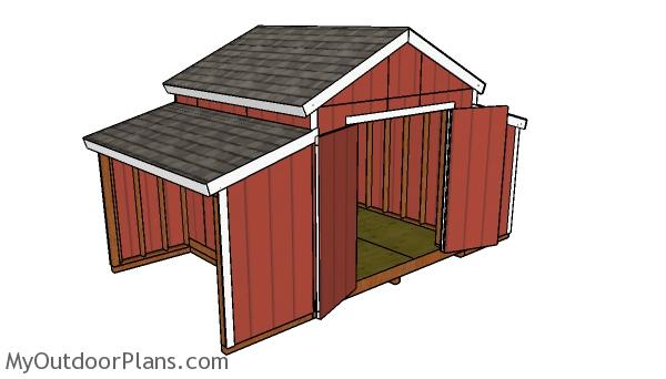 How to build a 10x18 Center Aisle Shed