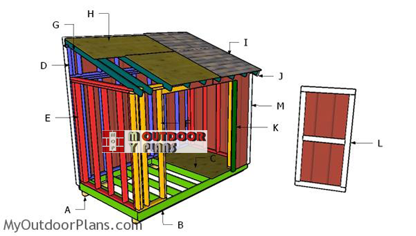 How-to-build-a-6x12-lean-to-shed