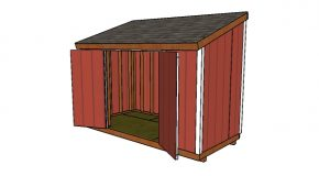 6×12 Lean to Shed Plans