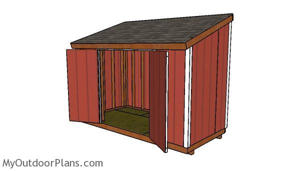 6x12 Lean To Shed Plans Myoutdoorplans Free
