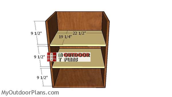 Left-storage-unit-shelves