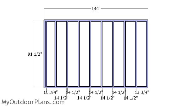 Plain side wall sections