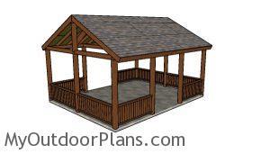 16x20 Pavilion Plans