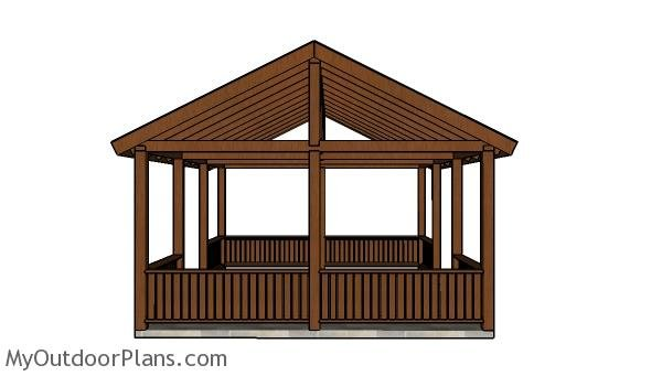 16x20 Picnic Shelter