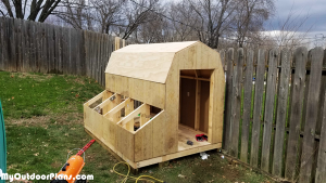 Assembling-the-chicken-coop