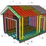 Building a 12x16 gable shed