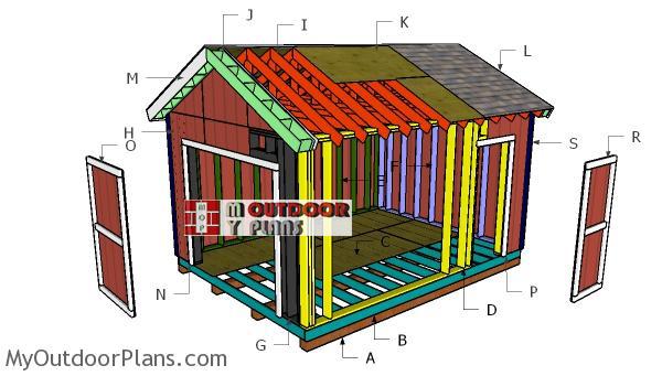Building-a-12x16-gable-shed