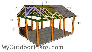 Building a 16x20 pavilion