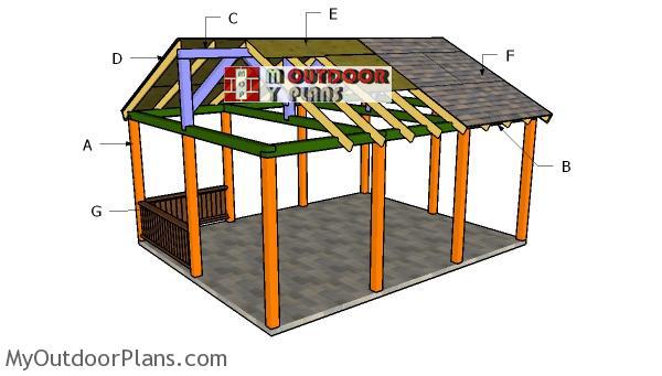 Building-a-16x20-pavilion