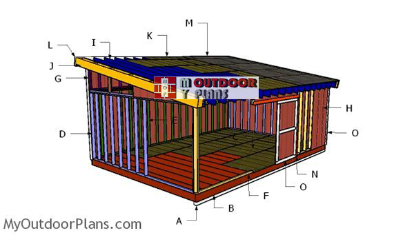 Building-a-16x24-lean-to-shed