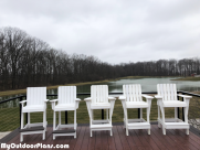 DIY High Adirondack Deck Chairs