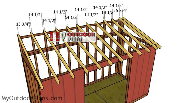 Fitting-the-rafters---6x14-shed
