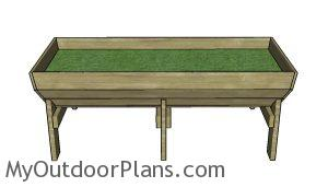 Vegetable Trug Plans Free