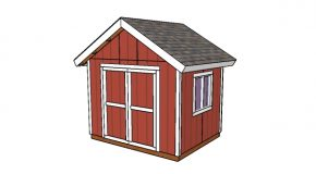 10×8 Gable Shed Plans