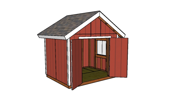 10x8 Gable Shed