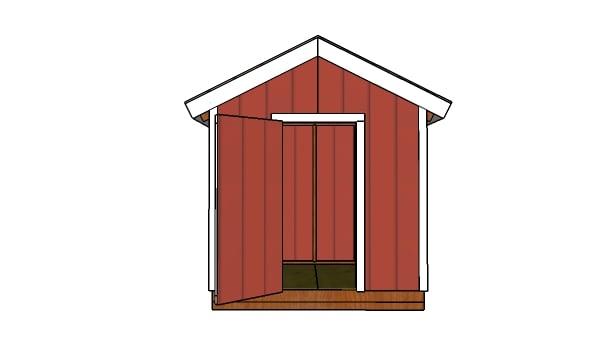 8x6 Shed Door Plans