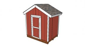 8×6 Gable Shed Plans