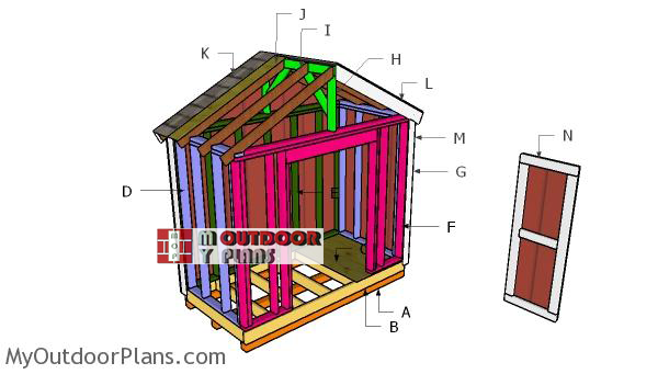 Building-a-8x4-gable-shed