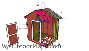 Building a 8x6 shed