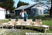 DIY Outdoor Table Set