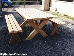 DIY-X-Picnic-Table