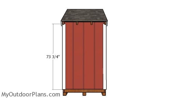Side shed trims