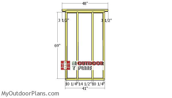 Side-wall-frames