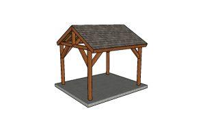 10x12 Picnic Table Plans