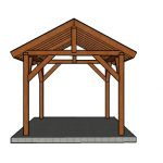 10×12 Pavilion Plans