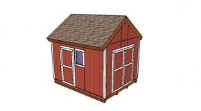 10×12 Gable Shed Plans