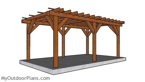 Do It Yourself Home Design: 12x20 Pergola Plans
